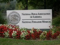 NRA Headquarters sign