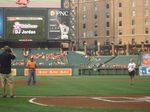 O's 1st pitch