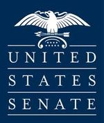 U.S. Senate logo (blue block)