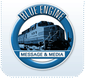 Blue Engine Message & Media logo