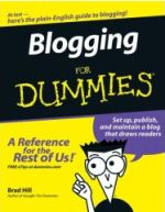 Bloggingfordummiescover